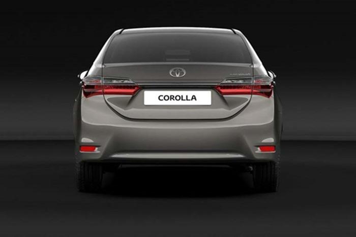 又换造型了 丰田发布新版卡罗拉效果图