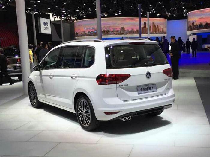 最新的家族设计 大众途安l六座北京车展首发