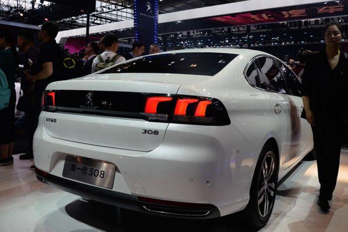 屁股很性感 东风标致新308北京车展正式发布