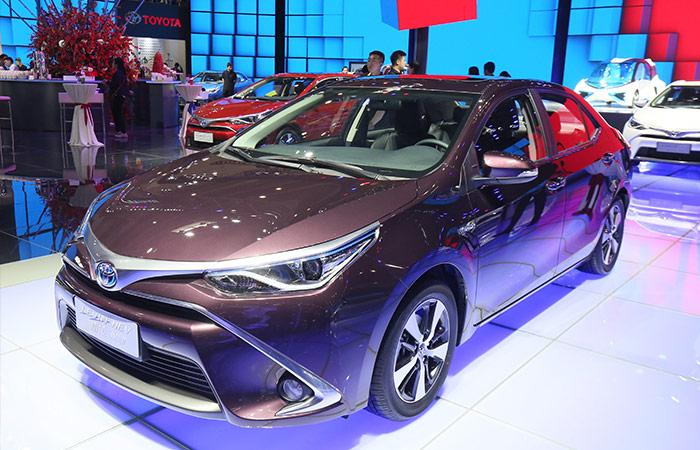 广汽丰田还计划于2018年导入雷凌外插充电式混合