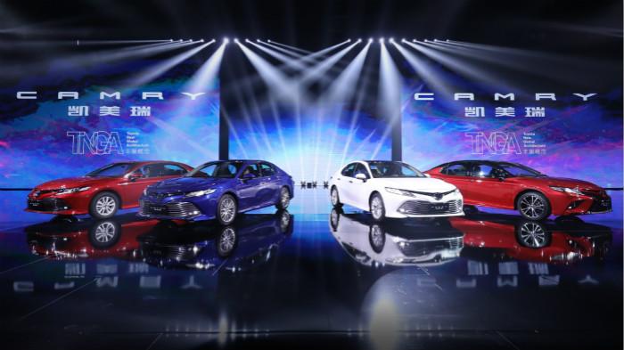 """丰田首款""""TNGA丰巢概念""""车型亮相广州车展,同时加快推进""""电动化""""战略"""